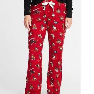 NEW Ski🎿 Dog Flannel Lounge Pants
